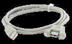 USB-A Durchführung Stift/Buchse mit 2m Leitung