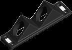 Modlink MPV Einbaurahmen 2-fach