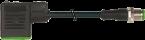 M12 St. 0° A-kod. / MSUD Ventilst. BI-11mm