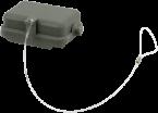 B6 Schutzkappe (Kunststoff/Längsverriegelung)