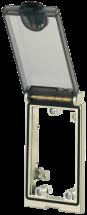 Modlink MSDD Einbaurahmen 1-fach Metall