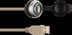 MSDD Einbaudose USB 3.0 BF A, 0.6 m Kabelverlängerung
