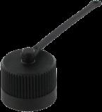 """Verschlusskappe 7/8"""" (Mini) Kunststoff"""