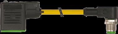 M12 MALE 90° / MSUD VALVE PLUG FORM B 10 MM