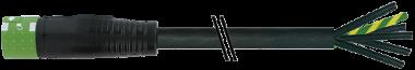 MQ15-X-Power Buchse gerade