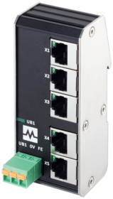 Xenterra 5TX unmanaged Switch 5 Port 100Mbit