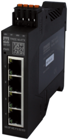 TREE M-4TX Lite managed Switch 4 Ports