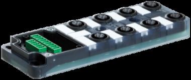 Exact12, 8xM12, 4-pol., Grundmodul ohne LED