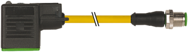 M12 MALE 0° / MSUD VALVE PLUG FORM B 10 MM