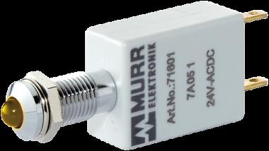 LED-Anzeige 24V DC Lampentest gelb