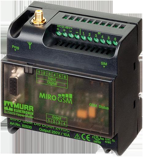 MIRO GSM DI6 DO4R 230VAC