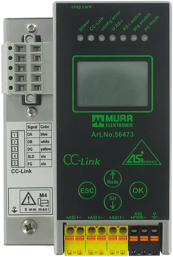 Gateway CC-Link/AS-i, 1 Master, P24