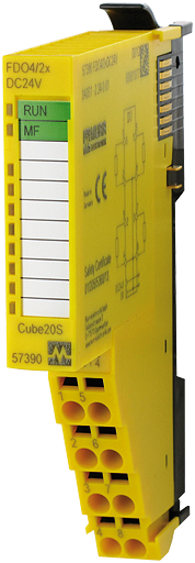 Cube20S Safety Ausgangsmodul F DO4/2