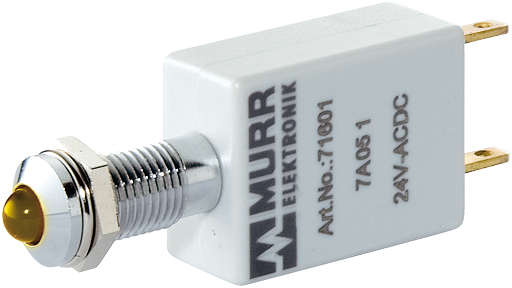 LED-DISPLAY YELLOW 110V AC/DC IP67