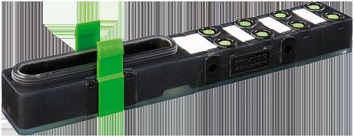Exact8, 8xM8, 4-pol., Grundmodul PNP-LED