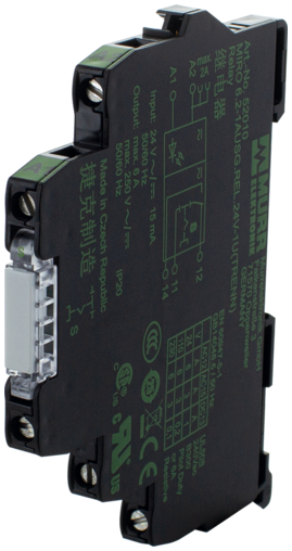 MIRO 6.2 24V-1U OUTPUT REL. WITH ISOLATION FUNCT.