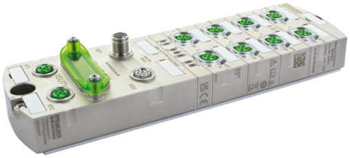 Managed Switch 10x10/100BT IP67 Metal M12