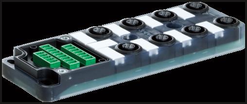 EXACT12, 8XM12, 5-POLE, BASIC HOUSING, W.O. LED'S