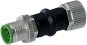 M12-M12 Adapter 6pol. fuer Cube67+