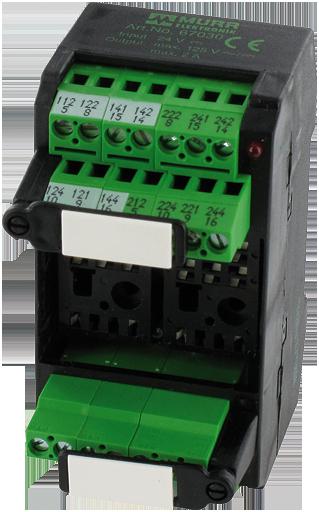 Murr Elektronik MKS-K 24//LED24 Relaissockelbaustein